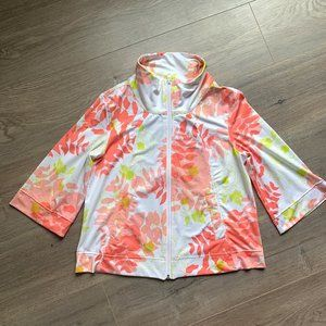 LULULEMON Stay Cool jacket floral 6